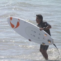 A Walking, Surfing Miracle Survives Rare Castleman Disease
