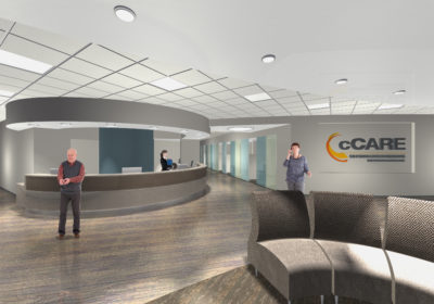 St. Agnes | cCARE | CA | Rendering of new cancer facility