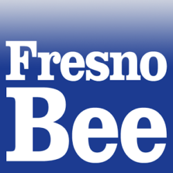 Fresno Bee logo for story on Dr. Rao's frustration against pharmacy benefits managers (PBMs) to secure patient's cancer treatment | cCARE | San Diego & Fresno CA