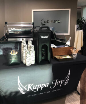 Kuppa Joy Coffee at cCARE Fresno Cancer Center